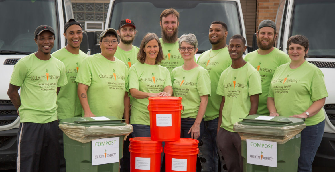 join compost pickup service team