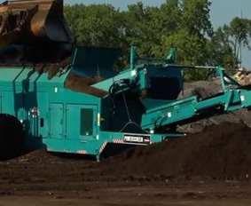 commercial compost site plow