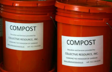 evanston compost collection