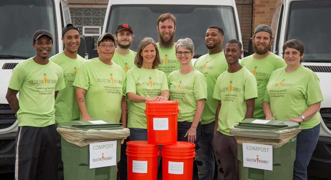 join our compost pickup service team