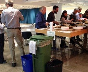 zero waste event with Collective Resource