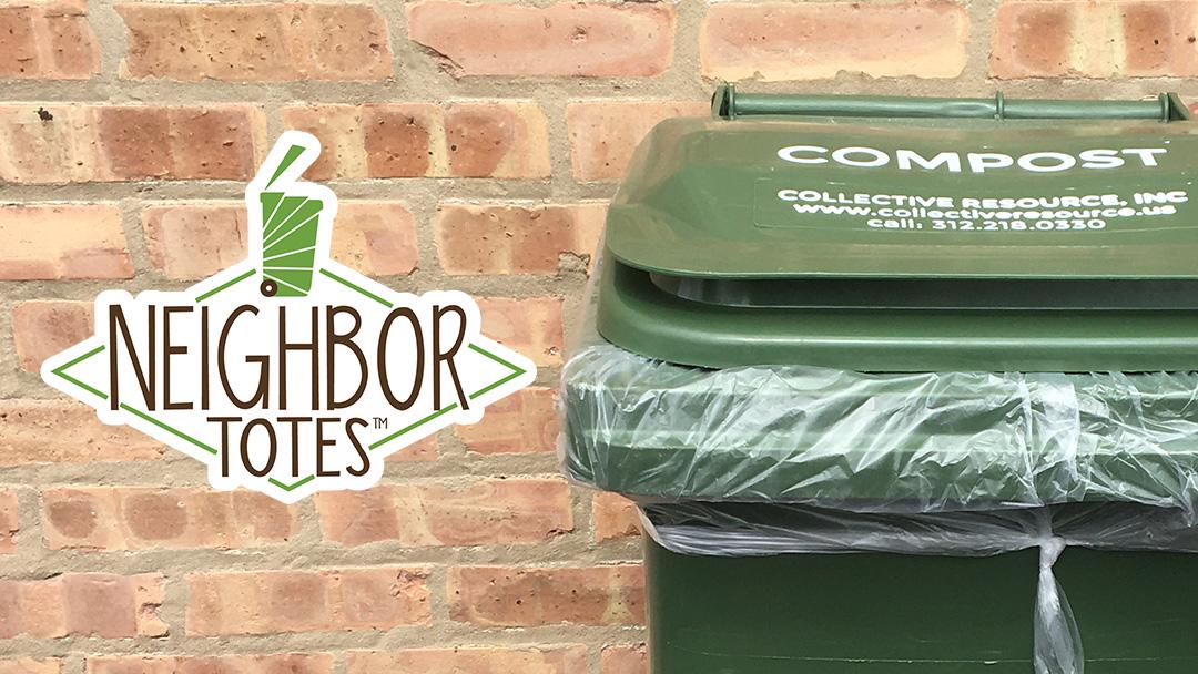 neighbor totes community composting program