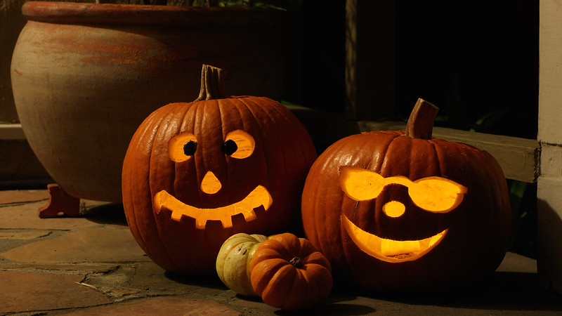 Compost Your Jack-o'-lanterns and Gourds!